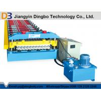 Galvanized Steel Corrugated Sheet Roll Forming Machine 0.3-0.8 Thickness Manufactures