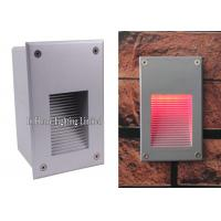 Led Recessed Step Wall Light Warm White Aluminum Outdoor Stair Wall Lamp Manufactures