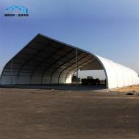 China Huge Curved Marquee / Temporary Tent Buildings Garage Sandwich Panel on sale