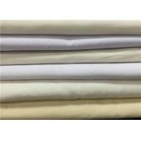 Eco Friendly Grey Cotton Polyester Blend Fabric For Shirt Dyeing / Printing Manufactures