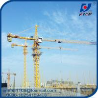 5tons QTZ63 Hammerhead Tower Crane Construction Cranes Tower Telescopic Manufactures