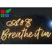 Warm White, Cool White Customized LED Neon Flex Letter Sign For Restaurant And Stores Manufactures