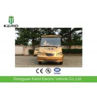 Multiple Purpose 8 Seater Electric Shuttle Bus Light Weight Superior Cruising Ability Manufactures