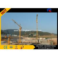 Large External Climbing Building Tower Crane Lifting Capacity 6t Electric Switch Box Manufactures