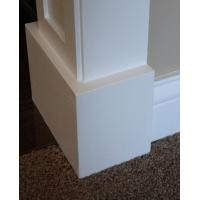 Economic Mothproof PVC baseboard / skirting board for indoor decoration Manufactures