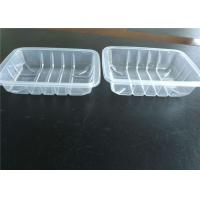Stackable Disposable PP Food Tray Packaging For Fruits And Vegetables Manufactures