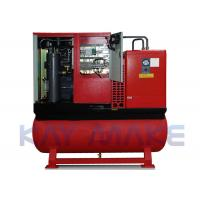 500L Tank Portable Air Compressor Mobile And Flexible For Car Store Manufactures