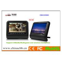 9 inch headrest TFT LED Monitor without pillow,support USB/SD Card, touch panel Manufactures