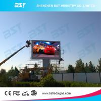 China P6 Full Color outdoor  Large advertising LED display for Video Advertising High Resolution wholesale