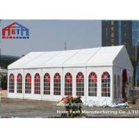 Roof Top Pop Up Wedding Party Tent , Beach Camping Tent Iron Material Connectors Manufactures