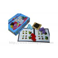 Turning Blcok 3D Kids Learning Toys / Creative Wooden Toys Customized Manufactures
