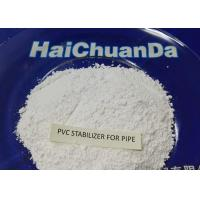 White Powder Heat Stabilizer For PVC Pressured Pipe , Environmentally Friendly Manufactures