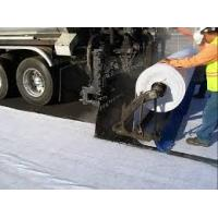 Road Construction Waterproof Polyester Fabric , nonwoven geotextile filter fabric Manufactures