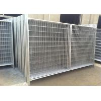China Porable Construction Fencing Panels Hot Dipped Galvanized Finished 2m x 3m on sale