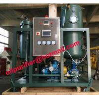 Buy cheap Stainless Steel Vacuum Turbine Oil Purification Plant, Emulsified Oil Filtration from wholesalers