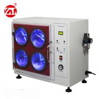 China Fabric Shuffle Pilling Textile Testing Machine With Four Box Type 220V 50hz on sale