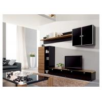 Buy cheap Living Room Entertainment Wall Unit Furniture MDF Material Melamine Finish from wholesalers