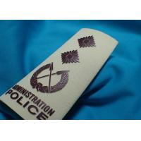 High Density Custom Clothing Patches , Heat Transfer Printing for Cotton Fabric Uniform Manufactures