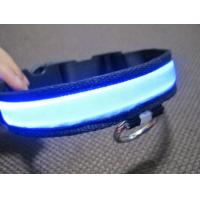 Double Row Flashing LED Pet Collar Manufactures