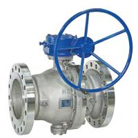 WCB Full Bore Ball Valve 900lb 1500lb Lf2 Body Nylon R-Ppfe Seat Gear Operate Manufactures