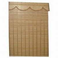 Bamboo Curtain Blind in Popular Style, Made of 100% Bamboo, with Horizontal Pattern Manufactures