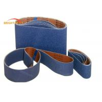 Blue Butt Joint Metal Sanding BeltsWith Cotton Blend Cloth  P60 - P5000 Grit Manufactures