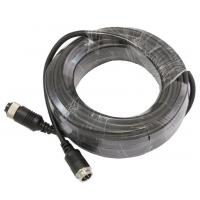 M12 4 Pin Backup Camera Connection Cable For Car Security System Manufactures