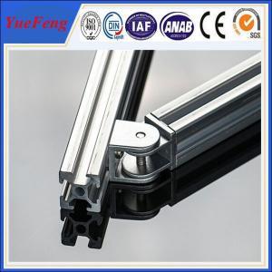 Hot! 6063 company profile/ v-slot aluminum profile extrusion/ t-slot aluminum profile Manufactures