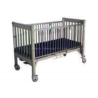Height Adjustable Pediatric Hospital Bed , Toddler Hospital Bed Full Length Guard Rails Manufactures