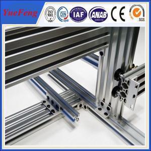 Hot! t slot industrial aluminum extrusion profile, large industrial aluminium profile Manufactures