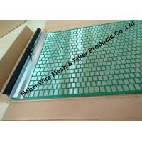 40 - 400 Mesh Flat Oil Vibrating Screen For Model 500 Shale Shaker Mud Cleaner Manufactures
