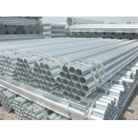 STK400 / STK290 BS JIS ASTM Galvanized carbon steel welded pipe For gas / oil Manufactures