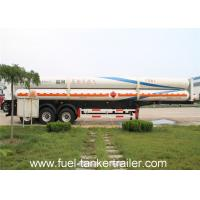 3 Axles Propane Tank Trailer Delivery Trucks CNG Gas Tank Semi Trailer Manufactures