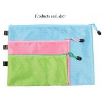 Pencil Pen Pouch School Class Binder Pocket Case Office Stationery Bag with 6 Colors,custom nylon stationery bag/pencilc Manufactures