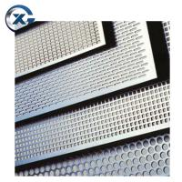 Buy cheap custom perforated sheet metal 304 201 stainless steel sheet colour finish from wholesalers