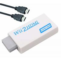 China Wii to HDMI Converter Adapter with 3ft High Speed HDMI Cable Wii2HDMI Adapter Output Video Audio with 3.5mm Jack Audio on sale