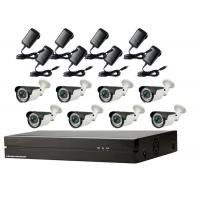Poe Security Camera System 1080p , External Bullet Camera Cctv Home Kits Manufactures