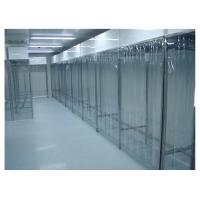 Stainless Steel Class 100 Pharmacy Clean Room With PVC Plastic Curtain Wall Manufactures