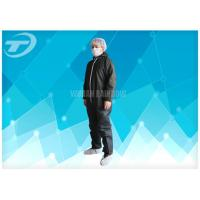 China Lightweight Anti - Acid Disposable Coverall Suit Microporous Film Laminated Fabric on sale