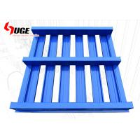 China 4- Way Entry Stackable Metal Pallets For Storage / Industrial Stackable Pallet Racks on sale