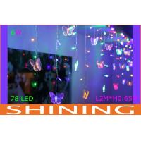 Butterfly Shape LED Curtain Light Manufactures