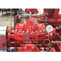 Ductile Cast Iron Split Case Fire Pump For Subway Stations 1500GPM @ 170PSI Manufactures
