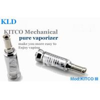 China Mechanical Mod KITCO 3 Electronic Cigarette Dry Herb Cartomizer With Stainless Steel on sale