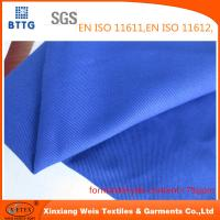 YSETEX EN470-1 EN531 320gsm flame retardant fabric in royal blue color Manufactures