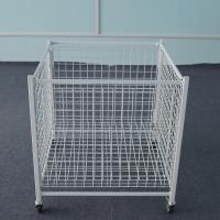 China Metal  Dump Bin  Steel Mesh Storage Cages For Store Or Supermarket on sale