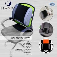 Posture Corrector Alleviates Pain Back Support PU Waist Lumbar Support Cushion For Office Chair Manufactures
