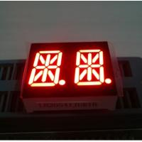 Buy cheap Ultra Red 0.54 Inch Dual Digit 14 Segment Led Display Common Anode from wholesalers