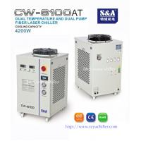 China Recirculating chiller for water cooled fiber laser CW-6100AT on sale