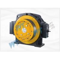 China Block Brake Elevator Replacement Parts , Gearless Traction Machine Rated Load 1350-1600KG on sale