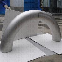 titanium elbow and bent pipe fitting/small pipe bender/titanium exhaust bends Manufactures